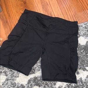 Lululemon Black Spandex Shorts